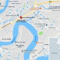 <p> Vị trí dự án The Water Bay. Ảnh: Google Maps.</p>