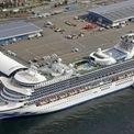 <p> Du thuyền Diamond Princess bị phong tỏa tại cảng Yokohama, phía nam thành phố Tokyo, Nhật Bản vào ngày 7/2. Trên tàu có 2.666 hành khách, trong đó có 428 người Mỹ, và thủy thủ đoàn 1.045 người. Tàu đang bị cách ly trong hai tuần sau khi một người đàn ông 80 tuổi đến từ Hong Kong có mặt trên du thuyền được xác định nhiễm virus corona. Người đàn ông này lên tàu hôm 20/1 ở Yokohama và xuống Hong Kong hôm 25/1. Bộ Y tế Nhật Bản cho biết đã phát hiện 41 trường hợp dương tính với virus corona trên du thuyền này. Ảnh: <em>Reuters</em>.</p>