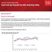 SSI Research: Ngành hàng không - Cạnh tranh gia tăng giới hạn tiềm năng tăng trưởng