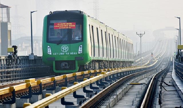 Đường sắt Cát Linh - Hà Đông chậm vận hành do nCoV
