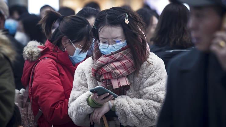 Trung Quốc ra mắt ứng dụng phát hiện tiếp xúc gần với người nhiễm nCoV
