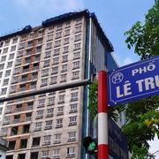 Căn hộ ở tầng 17, 18 nhà 8B Lê Trực không được pháp luật công nhận
