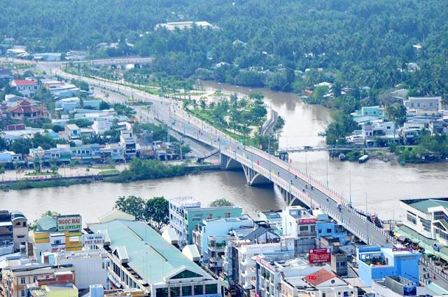 Một góc thành phố Bến Tre.  Bến Tre là đơn vị hành chính cấp tỉnh loại III ben tre la don vi hanh chinh t 8687 7943 1581491390