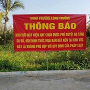 Cảnh báo công ty King Home Land bán đất 'ma'