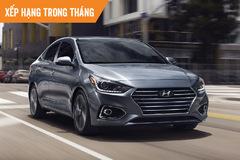 Top ôtô bán chạy tháng 1: Hyundai Accent 'qua mặt' Toyota Vios