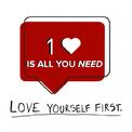 """<p> Không cần nhiều """"Like"""" từ người khác để chứng tỏ bản thân, chỉ cần bạn """"thả tim"""" cho chính mình là đủ.</p>"""