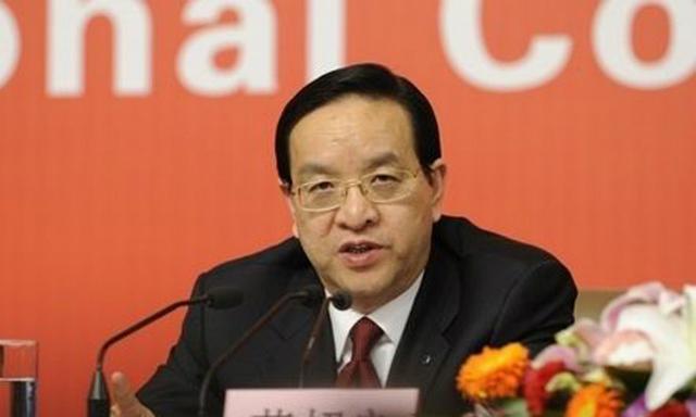 Bí thư đảng ủy Hồ Bắc Tưởng Siêu Lương. Ảnh: Xinhua.