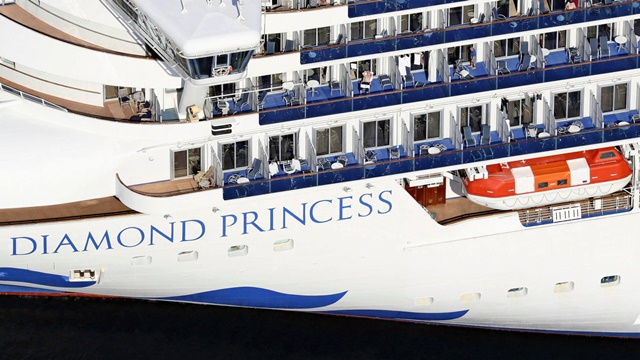 Kết quả hình ảnh cho tàu Diamond Princess