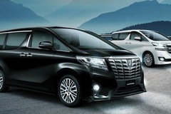 Triệu hồi Toyota Alphard tại Việt Nam
