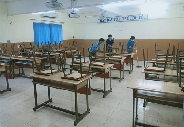 Học sinh TP HCM nghỉ hết tháng 2