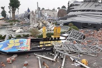 Chủ tịch Hà Nội yêu cầu thanh tra việc cưỡng chế phá dỡ công viên nước Thanh Hà