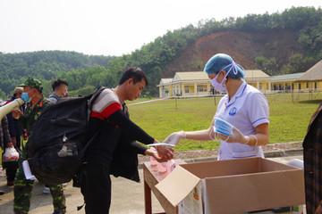 Cách ly 173 lao động từ Trung Quốc về