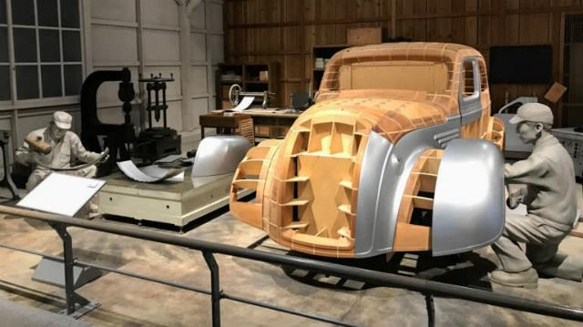 Bảo tàng kỷ niệm công nghiệp và công nghệ Toyota ở tỉnh Aichi. Ảnh: Nikkei.