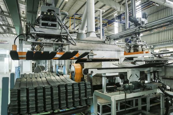 Thaco đẩy mạnh xuất khẩu nhíp ôtô