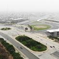 <p> Ghi nhận của <em>Người Đồng Hành</em> ngày 18/2,công trường đường đua F1 Hà Nội đang được triển khai những công đoạn nước rút, các hạng mục cố định gần như hoàn tất.</p>
