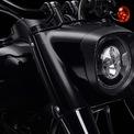 <p> Chiếc môtô softail có động cơ đôi cỡ lớn Milwaukee-Eight 114 (1.870cc), cập nhật thêm tính năng đèn LED và giữa ngoại hình sơn đen mờ toàn bộ là các chi tiết trang trí màu đồng tạo điểm nhấn.</p>
