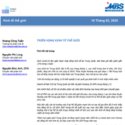 MBS: Báo cáo triển vọng kinh tế thế giới