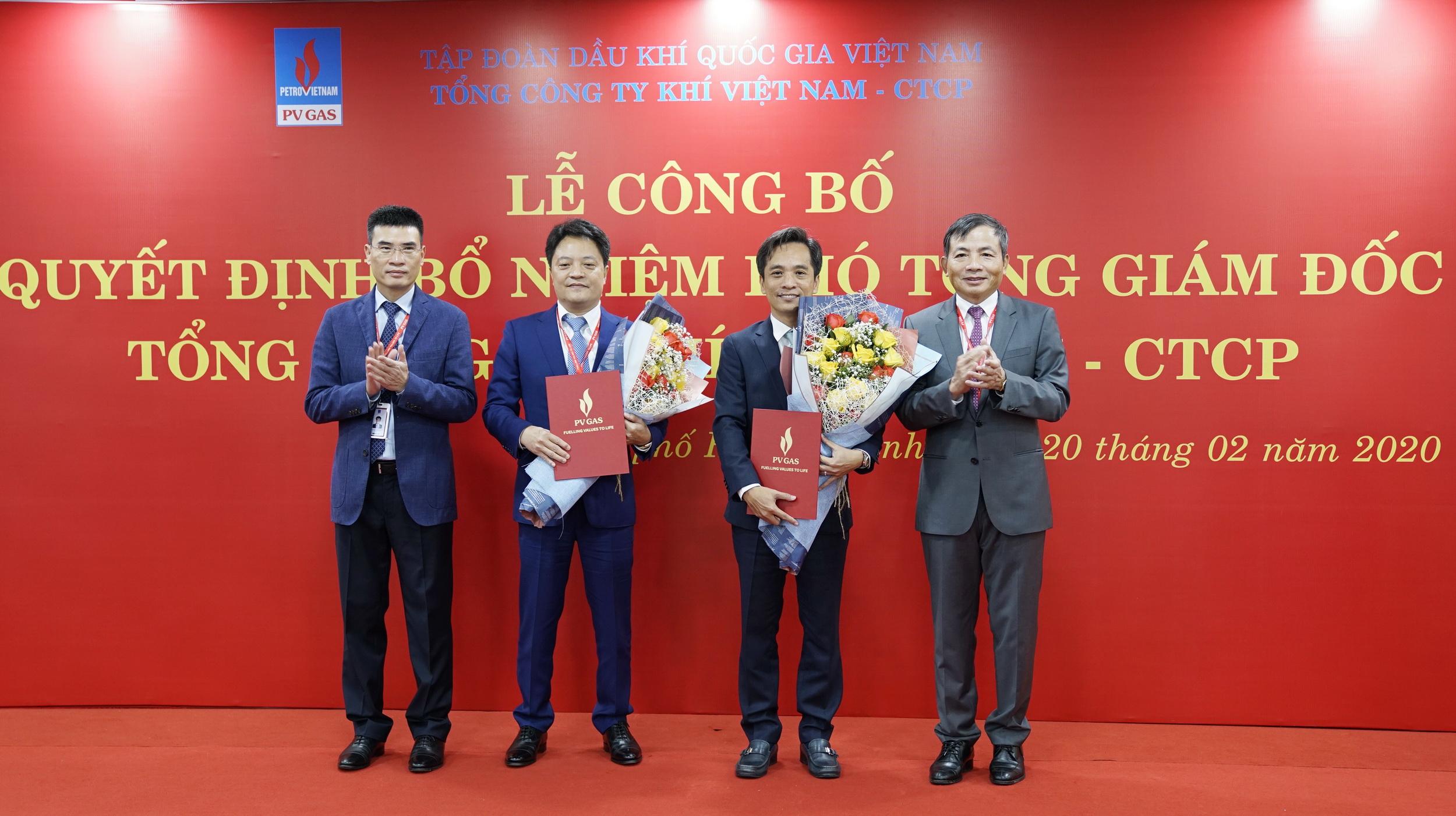 PV Gas bổ nhiệm 2 Phó Tổng giám đốc