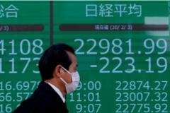 Dịch Covid-19 có xu hướng lan nhanh, cổ phiếu châu Á giảm