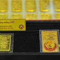 Giá vàng trong nước tăng gần 500.000 đồng/lượng