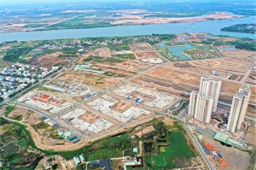 Toàn cảnh công trường đại đô thị 271 ha của Vinhomes tại TP HCM