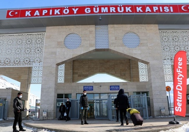 Thổ Nhĩ Kỳ tuyên bố đóng cửa biên giới với Iran từ ngày 23/2. Ảnh: DHA.