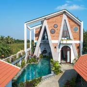 Kiến trúc mới mẻ của căn villa ở Hội An xuất hiện trên tạp chí Mỹ