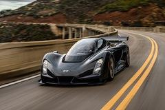 Czinger 21C - siêu xe hybrid 1.233 mã lực ứng dụng công nghệ in 3D