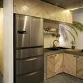 <p> Không gian bếp, phòng ăn, phòng giặt và phòng tắm đều được tối giản đáng kể đồ đạc, hầu hết là thiết bị đủ đáp ứng nhu cầu sử dụng.</p>
