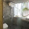 <p> Ánh nắng chan hòa trong không gian phòng bếp, phòng tắm.</p>
