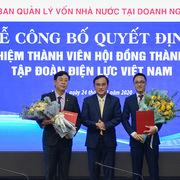 EVN bổ nhiệm 2 Thành viên HĐTV và Giám đốc Trung tâm Điều độ Hệ thống điện