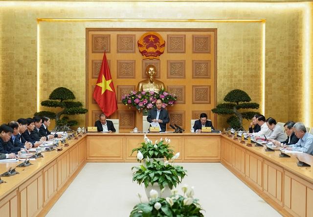 Thủ tướng chủ trì họp Thường trực Chính phủ.