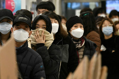 Gần 1.000 người Hàn Quốc nhiễm nCoV