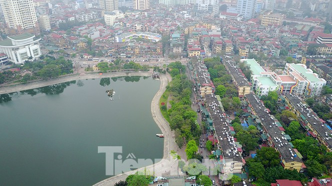 Hà Nội khẳng định không lấp hồ Thành Công để xây chung cư