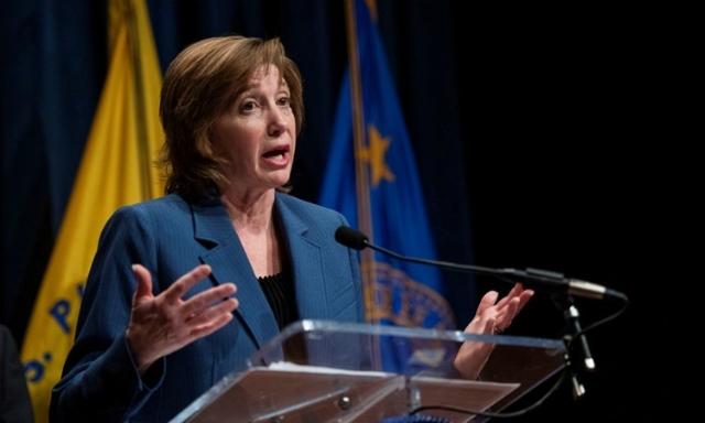 Tiến sĩ Nancy Messonnier, giám đốc Trung tâm Miễn dịch và Bệnh Hô hấp Quốc gia thuộc CDC. Ảnh: Reuters.