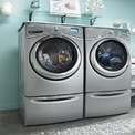 """<p> <strong>1. Máy giặt sấy</strong></p> <p class=""""Normal""""> Có một chiếc máy giặt sấy trong nhà đồng nghĩa với việc bạn chỉ cần giặt đồ trước khi đi ngủ, hẹn giờ thao tác giặt sấy, sáng hôm sau đã có quần áo sạch sẽ sẵn sàng cho bạn đi làm.</p> <p class=""""Normal""""> Những bất lợi như trời mưa, thời tiết nồm ẩm sẽ không còn gây khó chịu trong chuyện giặt đồ. Ngoài ra việc không phụ thuộc vào thời tiết, không mất công canh thời gian phơi đồ sẽ tiết kiệm thời gian cho gia đình.</p> <p class=""""Normal""""> Những điểm lưu ý khi chọn máy giặt sấy bao gồm: Quan tâm đến số lượng kg quần áo có thể giặt sấy phụ thuộc vào nhu cầu và số lượng thành viên trong gia đình; Công suất máy (tốc độ vắt vòng/phút); Các tính năng giới thiệu như giặt diệt khuẩn, tiết kiệm nước, nhiều chế độ giặt... tương đồng với việc giá thành sẽ cao hơn. Cuối cùng máy giặt sấy sẽ tiêu hao điện năng nhiều hơn so với máy giặt thông thường.</p> <p class=""""Normal""""> Chi phí: Khoảng 14 - 15 triệu là có thể sắm được một máy giặt sấy. Ngoài ra có thể tìm mua máy giặt Nhật hàng đã qua sử dụng để có giá mềm hơn.</p>"""