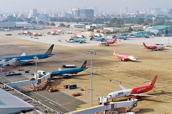 Những chuyến bay từ Hàn Quốc, Nhật Bản được bố trí bãi đỗ riêng biệt