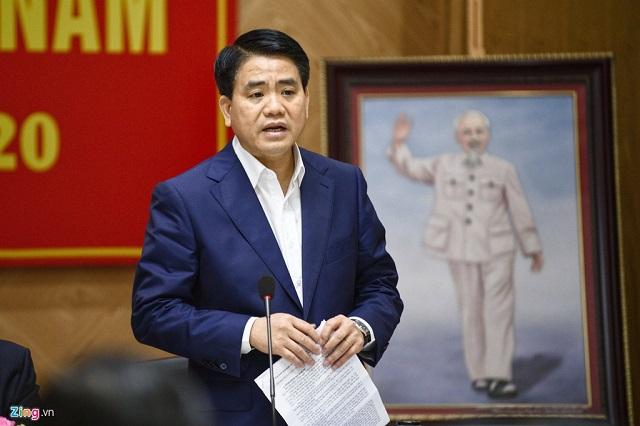 Chủ tịch Hà Nội Nguyễn Đức Chung thông tin trong tuần tới, thành phố sẽ tổ chức diễn tập chống dịch Covid-19.