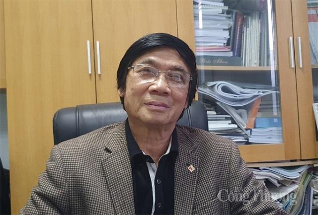 Ông Trần Ngọc Chính - Chủ tịch Hội Quy hoạch phát triển đô thị Việt Nam.