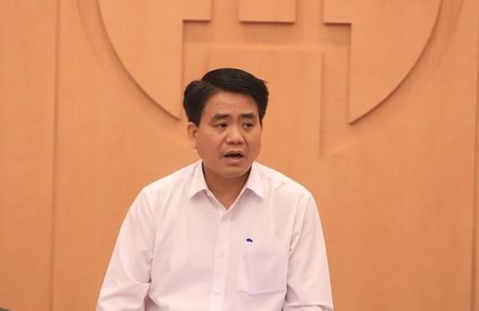 Chủ tịch UBND thành phố Hà Nội Nguyễn Đức Chung.