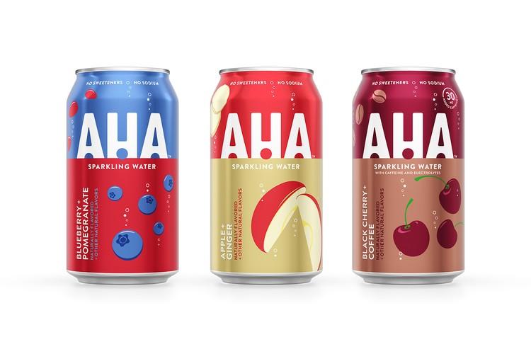 Coca Cola cho ra mắt nước uống AHA mới