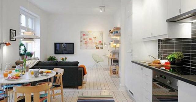 Căn hộ 25 m2 sẽ được đưa vào thực tế từ ngày 1/7.