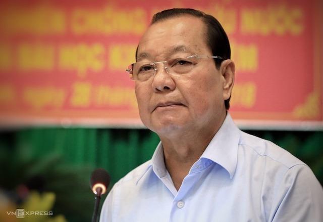 Nguyên Bí thư TP HCM Lê Thanh Hải bị đề nghị kỷ luật