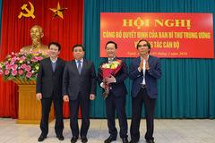 Thứ trưởng Kế hoạch & Đầu tư làm Phó bí thư tỉnh ủy Nghệ An
