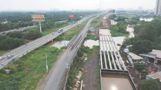 Thu hồi 14,8 ha đất hợp đồng BT xây dựng đường song hành cao tốc Long Thành