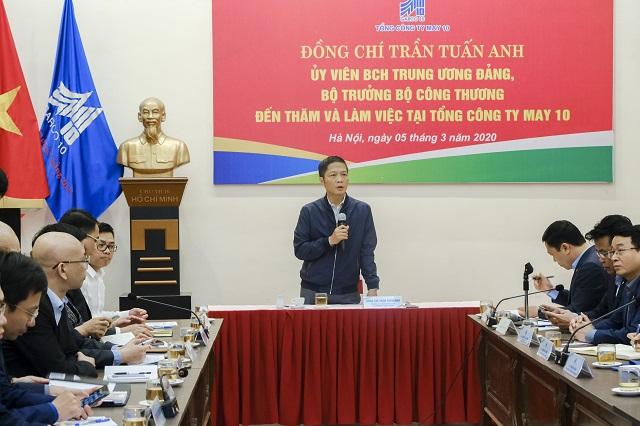 Bộ trưởng Công Thương họp tìm giải pháp 'cứu' ngành dệt may