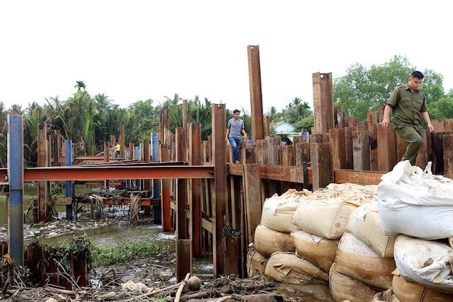 Bến Tre: Nhiều nhà máy có nguy cơ ngừng sản xuất do hạn mặn