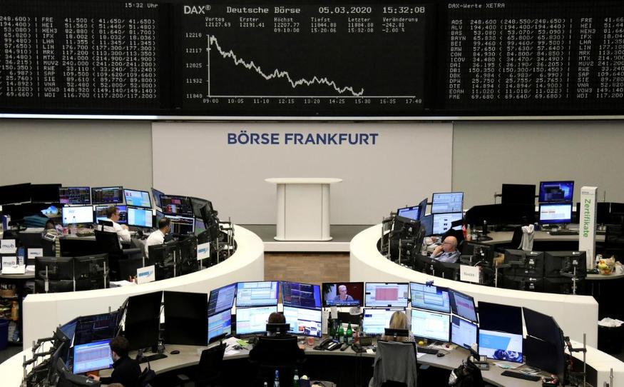 Cổ phiếu châu Âu giảm 6%, chỉ số của Italia mất hơn 2.000 điểm