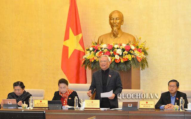 Ủy ban Thường vụ Quốc hội hoãn phiên họp 43