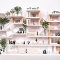<p> Phối cảnh các không gian sống trong ngôi nhà được xây dựng trên phần diện tích 220 m2.</p>